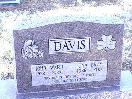 DAVIS, UNA - Arkansas County, Arkansas | UNA DAVIS - Arkansas Gravestone Photos
