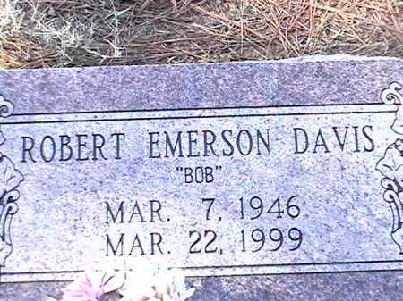 DAVIS, ROBERT EMERSON - Arkansas County, Arkansas   ROBERT EMERSON DAVIS - Arkansas Gravestone Photos