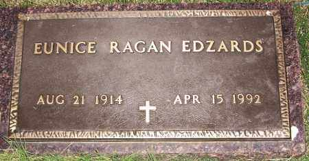 EDZARDS, EUNICE RAGAN - Arkansas County, Arkansas | EUNICE RAGAN EDZARDS - Arkansas Gravestone Photos
