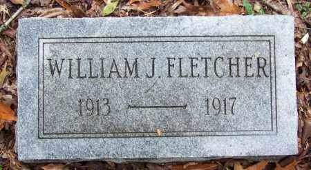 FLETCHER, WILLIAM J - Arkansas County, Arkansas | WILLIAM J FLETCHER - Arkansas Gravestone Photos