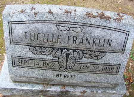 FRANKLIN, LUCILLE - Arkansas County, Arkansas   LUCILLE FRANKLIN - Arkansas Gravestone Photos