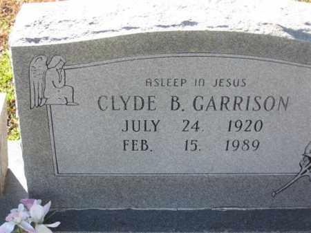GARRISON, CLYDE B - Arkansas County, Arkansas   CLYDE B GARRISON - Arkansas Gravestone Photos