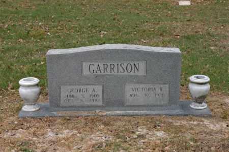 MARTIN GARRISON, VICTORIA ROSEBUD - Arkansas County, Arkansas | VICTORIA ROSEBUD MARTIN GARRISON - Arkansas Gravestone Photos