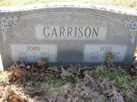 COOPER GARRISON, JOSIE - Arkansas County, Arkansas | JOSIE COOPER GARRISON - Arkansas Gravestone Photos