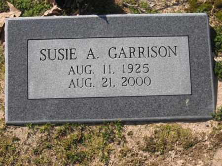 GARRISON, SUSIE A - Arkansas County, Arkansas | SUSIE A GARRISON - Arkansas Gravestone Photos
