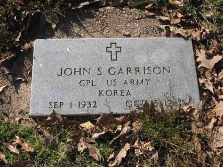 GARRISON (VETERAN KOR), JOHN S - Arkansas County, Arkansas | JOHN S GARRISON (VETERAN KOR) - Arkansas Gravestone Photos