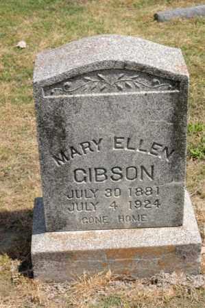 GIBSON, MARY ELLEN - Arkansas County, Arkansas | MARY ELLEN GIBSON - Arkansas Gravestone Photos