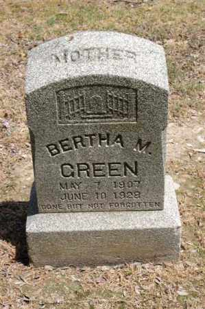 GREEN, BERTHA M - Arkansas County, Arkansas | BERTHA M GREEN - Arkansas Gravestone Photos