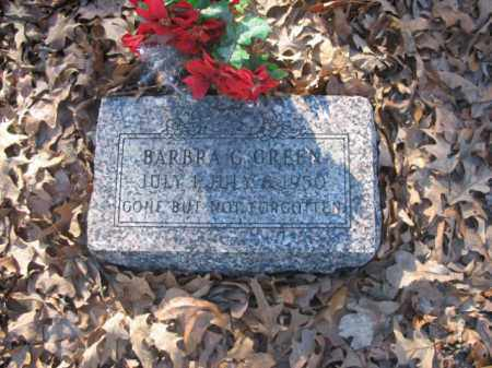 GREEN, BARBRA G - Arkansas County, Arkansas   BARBRA G GREEN - Arkansas Gravestone Photos