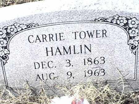 TOWER HAMLIN, CARRIE - Arkansas County, Arkansas | CARRIE TOWER HAMLIN - Arkansas Gravestone Photos