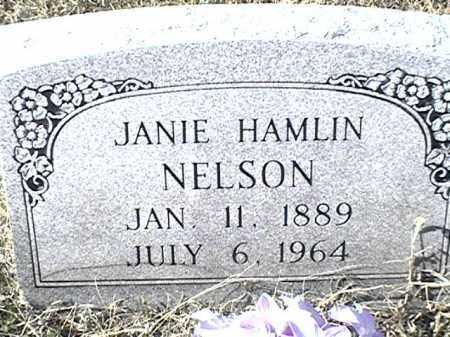 NELSON HAMLIN, JANIE - Arkansas County, Arkansas | JANIE NELSON HAMLIN - Arkansas Gravestone Photos