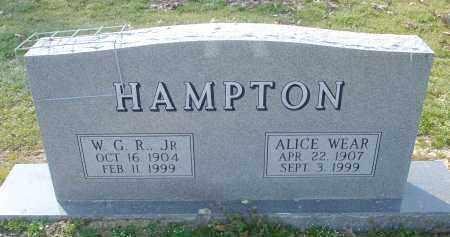 HAMPTON, JR, WILLIAM GEORGE RILEY - Arkansas County, Arkansas | WILLIAM GEORGE RILEY HAMPTON, JR - Arkansas Gravestone Photos