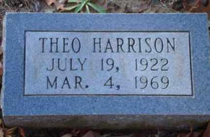HARRISON, THEO - Arkansas County, Arkansas | THEO HARRISON - Arkansas Gravestone Photos