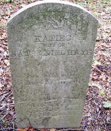 HAYS, KATIE C - Arkansas County, Arkansas   KATIE C HAYS - Arkansas Gravestone Photos