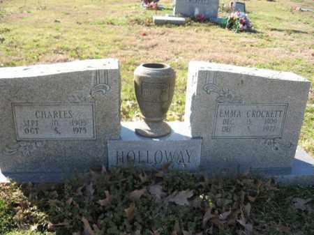 HOLLOWAY, CHARLES - Arkansas County, Arkansas | CHARLES HOLLOWAY - Arkansas Gravestone Photos