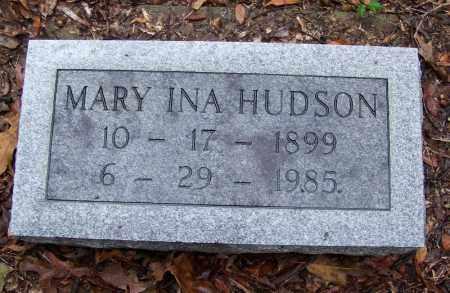 HUDSON, MARY INA - Arkansas County, Arkansas | MARY INA HUDSON - Arkansas Gravestone Photos