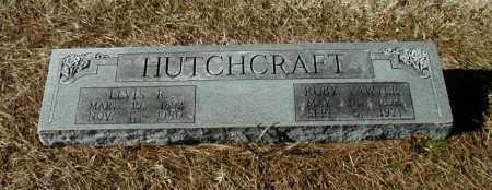 HUTCHCRAFT, RUBY - Arkansas County, Arkansas | RUBY HUTCHCRAFT - Arkansas Gravestone Photos