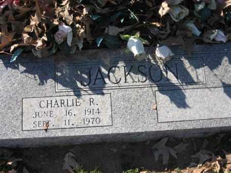 JACKSON, CHARLIE R - Arkansas County, Arkansas | CHARLIE R JACKSON - Arkansas Gravestone Photos