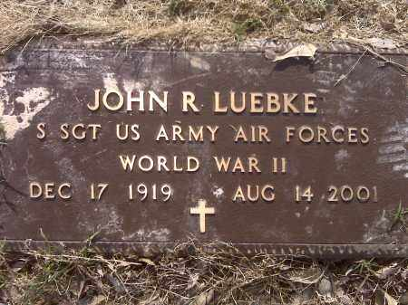 LUEBKE (VETERAN WWII), JOHN - Arkansas County, Arkansas | JOHN LUEBKE (VETERAN WWII) - Arkansas Gravestone Photos