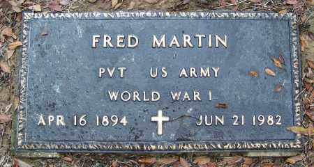 MARTIN (VETERAN WWI), FRED - Arkansas County, Arkansas | FRED MARTIN (VETERAN WWI) - Arkansas Gravestone Photos