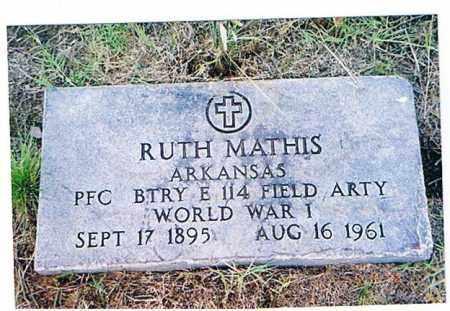MATHIS (VETERAN WWI), RUTH - Arkansas County, Arkansas | RUTH MATHIS (VETERAN WWI) - Arkansas Gravestone Photos