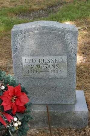 MAUGANS, LEO RUSSELL - Arkansas County, Arkansas   LEO RUSSELL MAUGANS - Arkansas Gravestone Photos