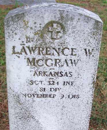 MCGRAW (VETERAN), LAWRENCE W - Arkansas County, Arkansas   LAWRENCE W MCGRAW (VETERAN) - Arkansas Gravestone Photos