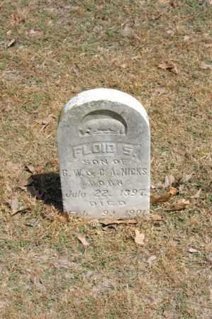 NICKS, FLOID S - Arkansas County, Arkansas | FLOID S NICKS - Arkansas Gravestone Photos