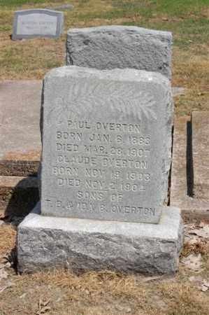OVERTON, PAUL - Arkansas County, Arkansas | PAUL OVERTON - Arkansas Gravestone Photos