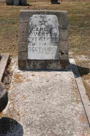 OVERTON (VETERAN), CARL T - Arkansas County, Arkansas | CARL T OVERTON (VETERAN) - Arkansas Gravestone Photos
