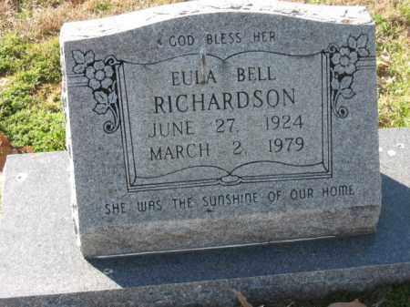 RICHARDSON, EULA - Arkansas County, Arkansas   EULA RICHARDSON - Arkansas Gravestone Photos