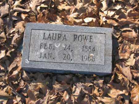 ROWE, LAURA - Arkansas County, Arkansas | LAURA ROWE - Arkansas Gravestone Photos