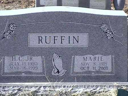 RUFFIN JR, HENRY C. - Arkansas County, Arkansas | HENRY C. RUFFIN JR - Arkansas Gravestone Photos