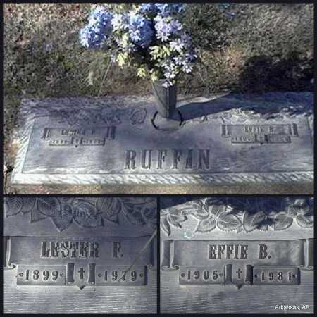 RUFFIN, LESTER F. - Arkansas County, Arkansas | LESTER F. RUFFIN - Arkansas Gravestone Photos