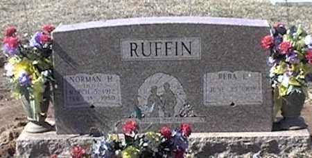 "RUFFIN, NORMAN H ""PETE"" - Arkansas County, Arkansas   NORMAN H ""PETE"" RUFFIN - Arkansas Gravestone Photos"