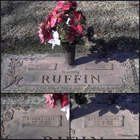 RUFFIN, ROBERT GUY - Arkansas County, Arkansas | ROBERT GUY RUFFIN - Arkansas Gravestone Photos