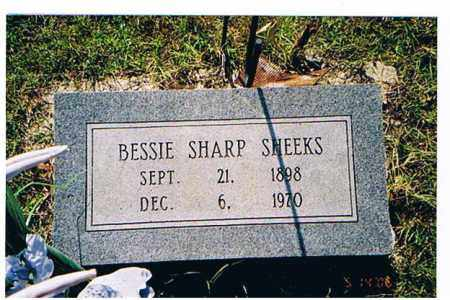 SHEEKS, BESSIE - Arkansas County, Arkansas | BESSIE SHEEKS - Arkansas Gravestone Photos