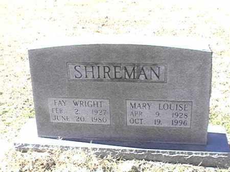 SHIREMAN, MARY LOUISE - Arkansas County, Arkansas | MARY LOUISE SHIREMAN - Arkansas Gravestone Photos