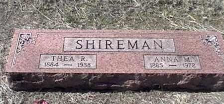SHIREMAN, THEA R - Arkansas County, Arkansas | THEA R SHIREMAN - Arkansas Gravestone Photos