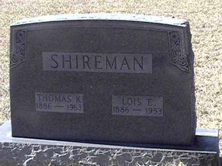 SHIREMAN, THOMAS K - Arkansas County, Arkansas | THOMAS K SHIREMAN - Arkansas Gravestone Photos