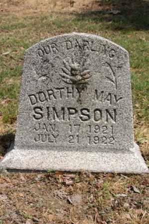 SIMPSON, DORTHY MAY - Arkansas County, Arkansas | DORTHY MAY SIMPSON - Arkansas Gravestone Photos