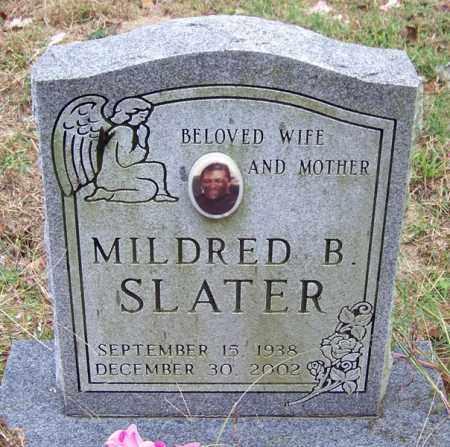 SLATER, MILDRED B - Arkansas County, Arkansas   MILDRED B SLATER - Arkansas Gravestone Photos