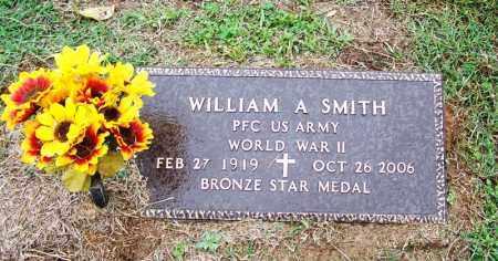 SMITH (VETERAN WWII), WILLIAM A - Arkansas County, Arkansas | WILLIAM A SMITH (VETERAN WWII) - Arkansas Gravestone Photos