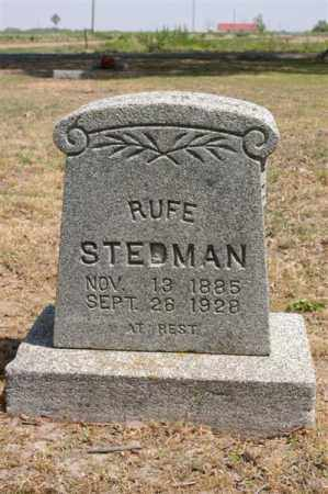 STEDMAN, RUFE - Arkansas County, Arkansas   RUFE STEDMAN - Arkansas Gravestone Photos