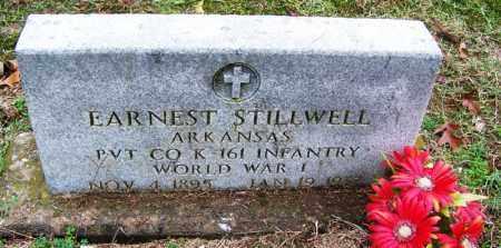 STILLWELL (VETERAN WWI), EARNEST - Arkansas County, Arkansas | EARNEST STILLWELL (VETERAN WWI) - Arkansas Gravestone Photos