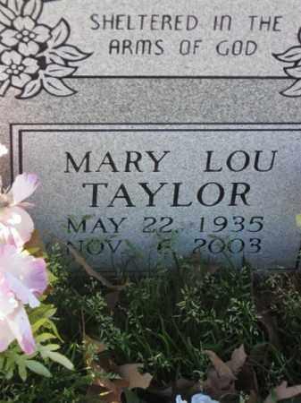 TAYLOR, MARY LOU - Arkansas County, Arkansas | MARY LOU TAYLOR - Arkansas Gravestone Photos