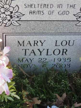 TAYLOR, MARY LOU - Arkansas County, Arkansas | MARY LOU TAYLOR - Arkansas Gravestone Photos