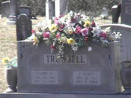 TRUSSELL, T PURDY - Arkansas County, Arkansas | T PURDY TRUSSELL - Arkansas Gravestone Photos