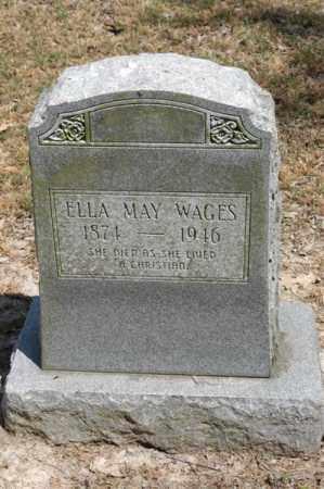 WAGES, ELLA MAY - Arkansas County, Arkansas   ELLA MAY WAGES - Arkansas Gravestone Photos