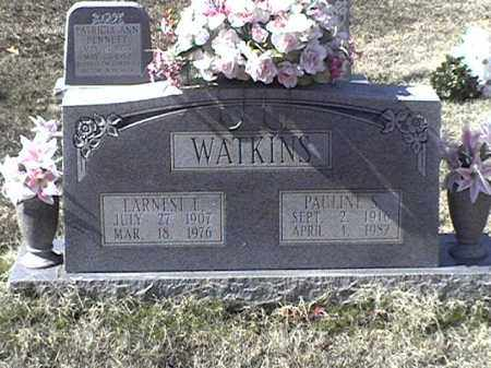 WATKINS, PAULINE S - Arkansas County, Arkansas | PAULINE S WATKINS - Arkansas Gravestone Photos